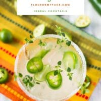 Spicy Jalapeno Thyme Margarita Recipe