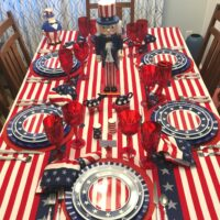 A Stars and Stripes Forever Table