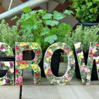Grow Garden Sign DIY