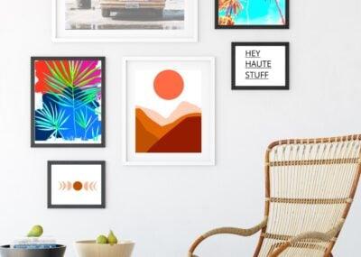 Boho Style Modern Art Printables for the Home 25