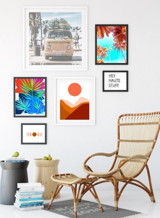 Boho Style Modern Art Printables for the Home 8