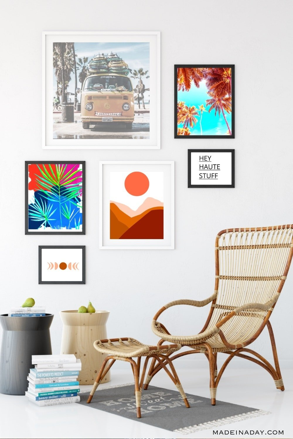 Boho Style Modern Art Printables for the Home