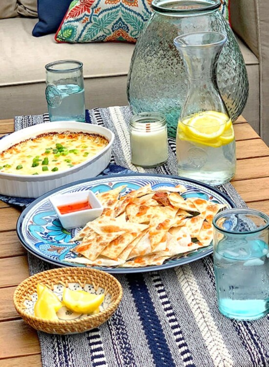 Crab Rangoon Dip + Summer Entertaining Inspiration 33