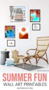 Boho Style Modern Art Printables for the Home 1