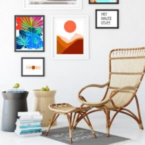 Boho Style Modern Art Printables for the Home 1