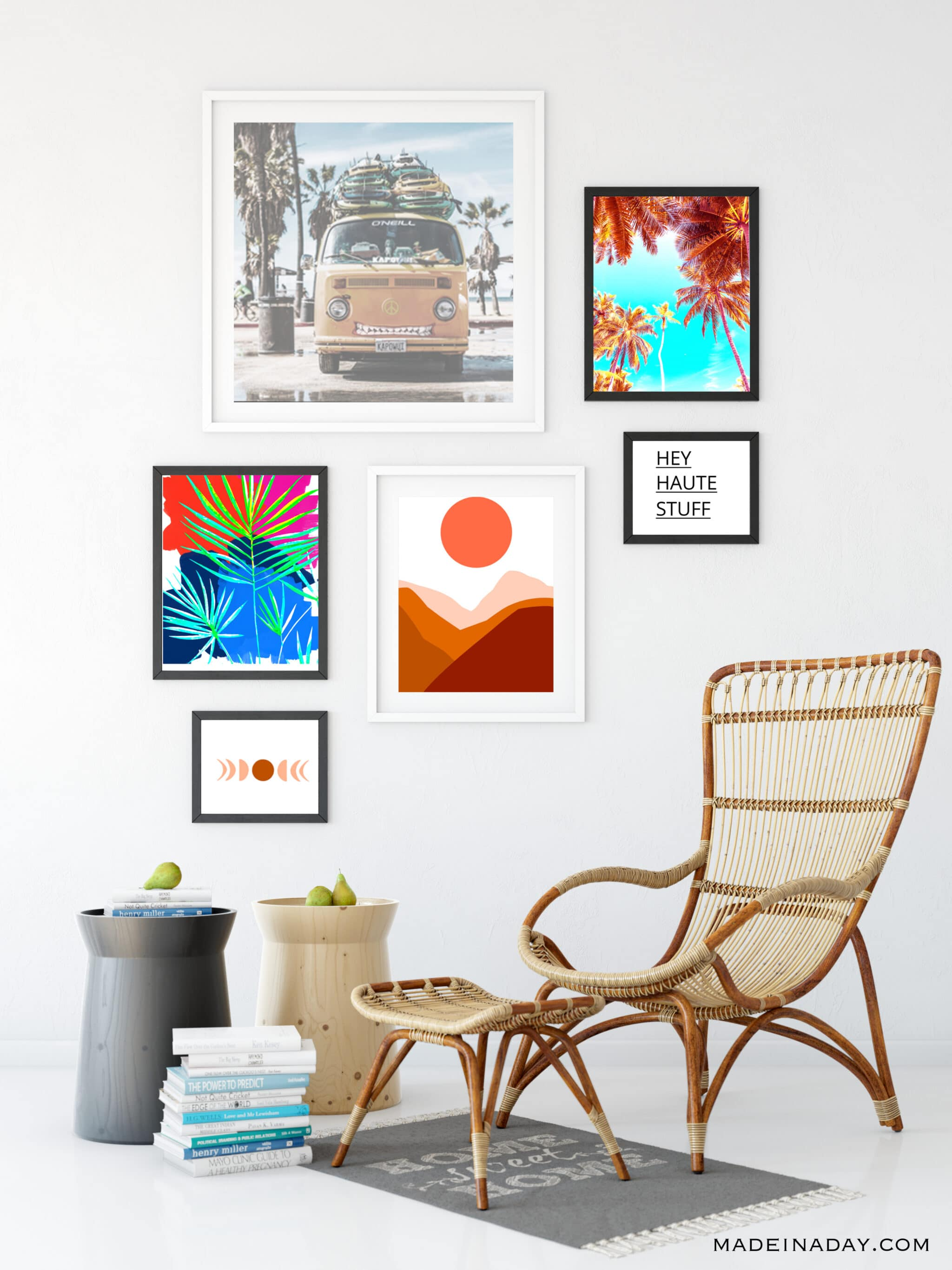 Boho Style Modern Art Printables for the Home 2