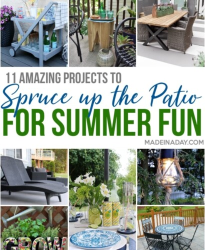 Amazing DIY Patio Projects for Summer Entertaining 10