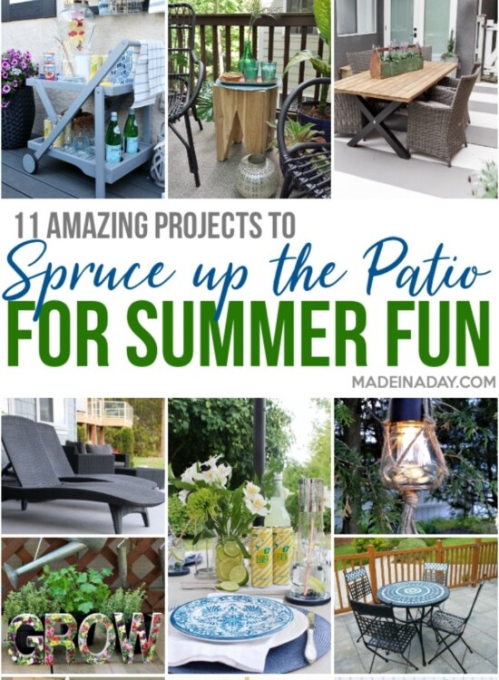 Amazing DIY Patio Projects for Summer Entertaining 1