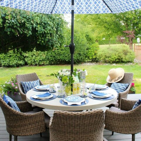 Amazing DIY Patio Projects for Summer Entertaining 35
