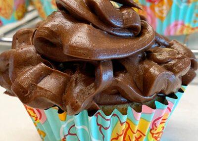 Simple Keto Yellow Cake Cupcakes 20
