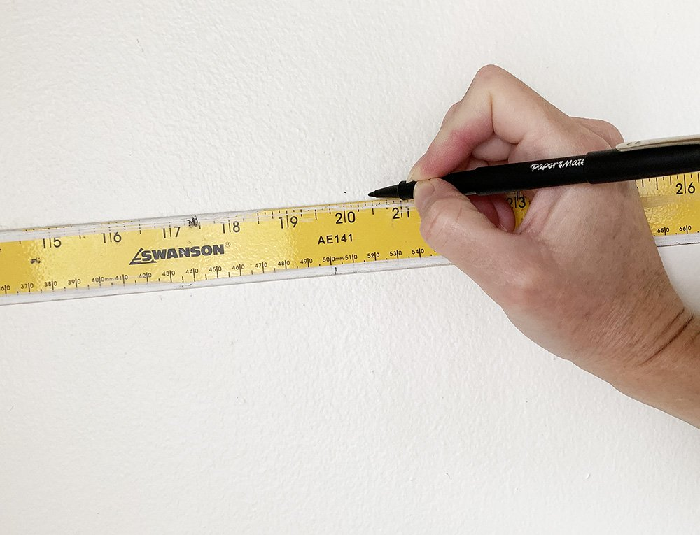 measure wall for wallpaper width