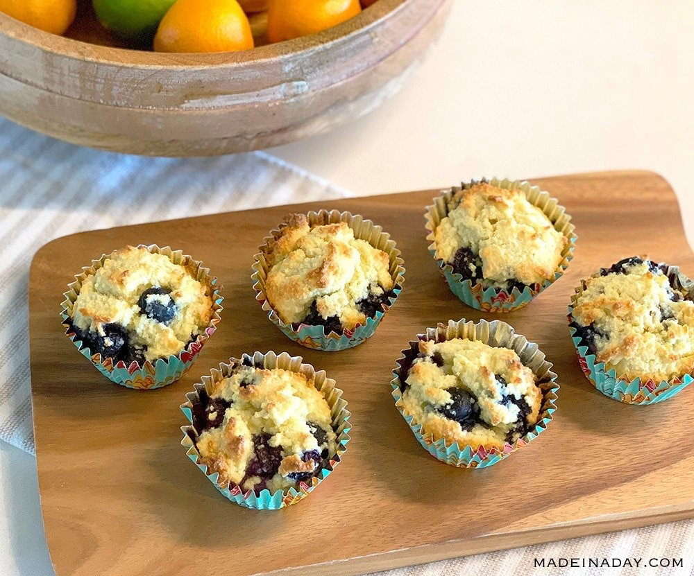 Keto Blueberry muffin recipe