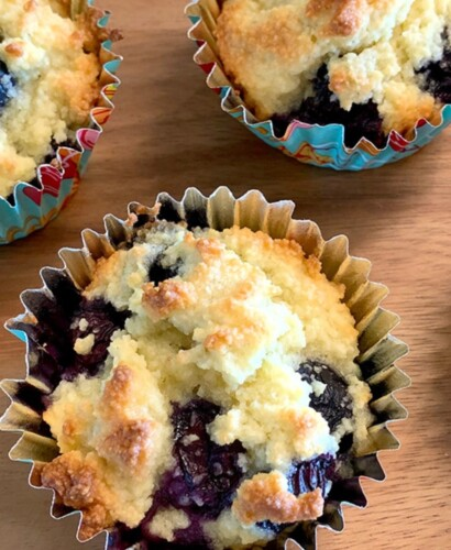 Perfect Low Carb Blueberry Muffins 31