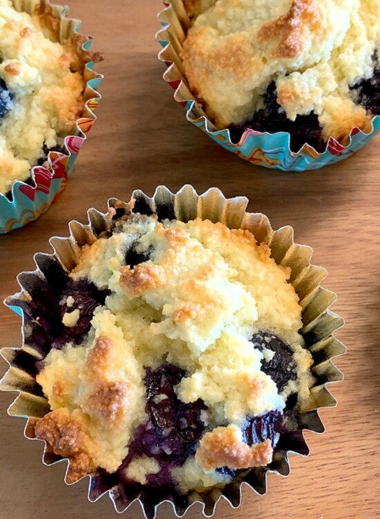 Perfect Low Carb Blueberry Muffins 3