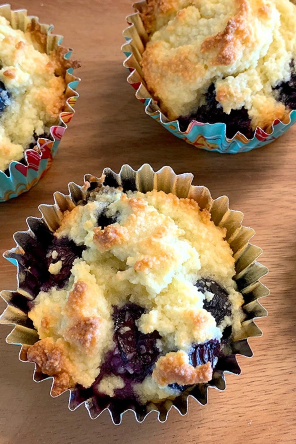 Perfect Low Carb Blueberry Muffins 17