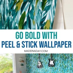 Go Bold with Peel and Stick Wallpaper 1