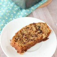 Simple Chocolate Chip Zucchini Bread