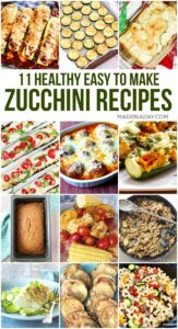 12 Healthy Zucchini Squash Recipes 1