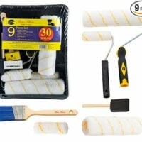Interior Paint Brush Set