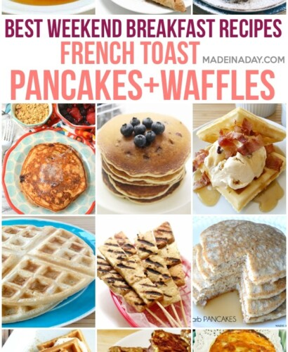 Best Weekend Breakfast Recipes: Waffles, Pancakes and French Toast 1