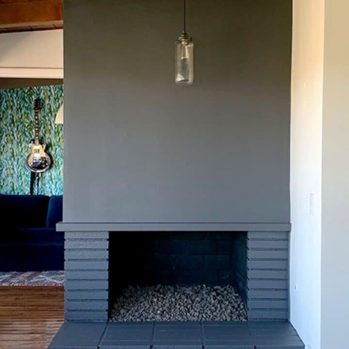 Paint a Fireplace: