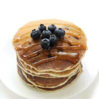 Gluten-Free Blueberry Pancakes (Vegan, Allergy-Free)
