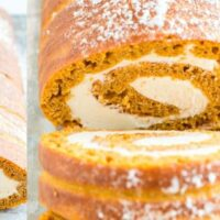 Pumpkin Roll With Cream Cheese Filling-EASY STEP BY STEP INSTRUCTIONS!