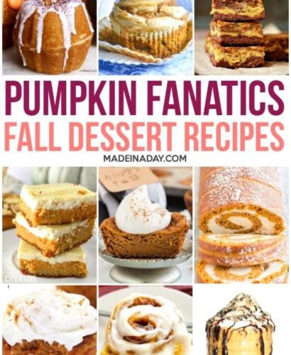 Decadent Pumpkin Dessert Recipes 1