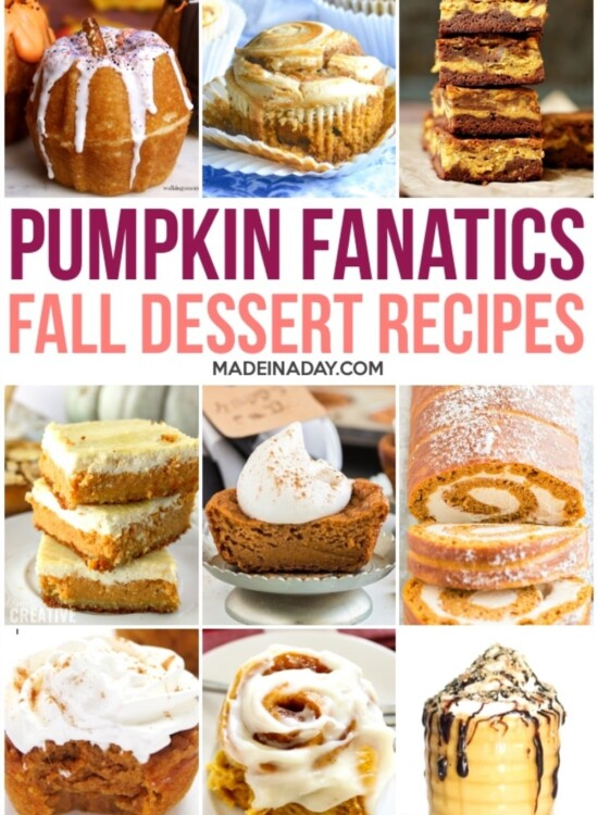 Decadent Pumpkin Dessert Recipes 2