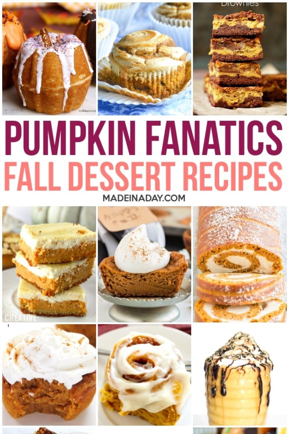 Decadent Pumpkin Dessert Recipes