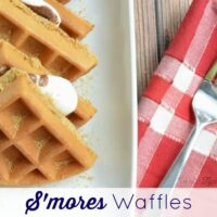 Easy S'mores Waffles Recipe: Your Favorite Dessert in Breakfast Form