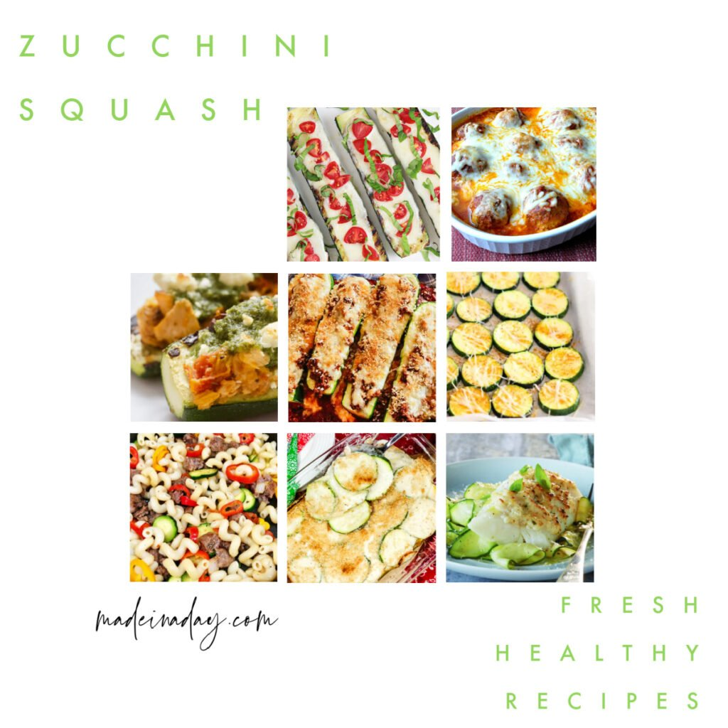 Zucchini Recipes Healthy Side Dish Options