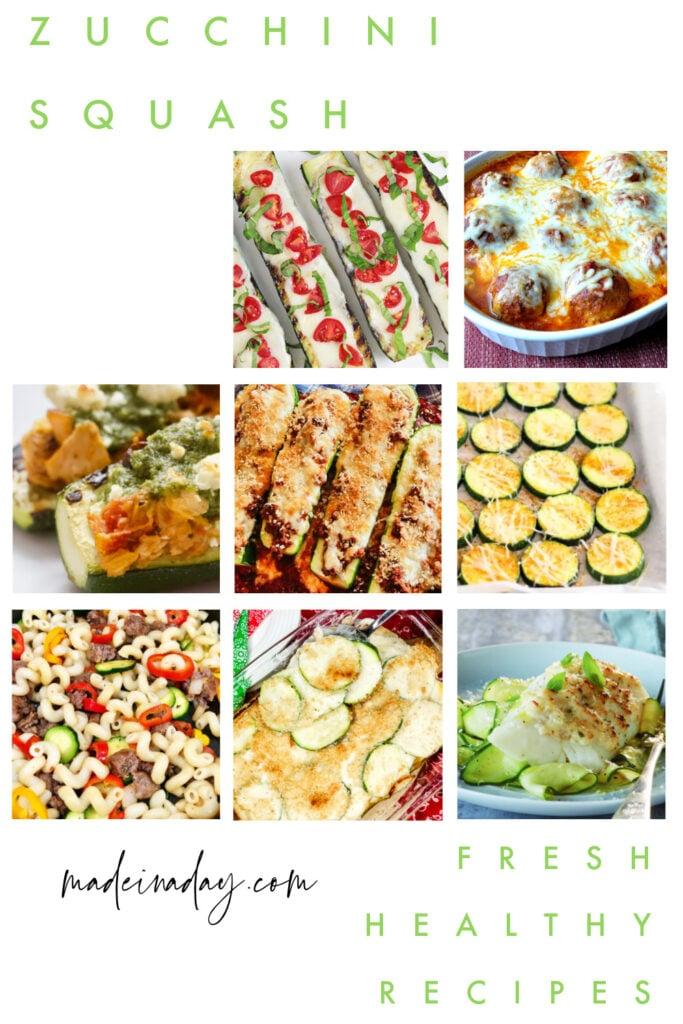 Zucchini Recipes Healthy recipes