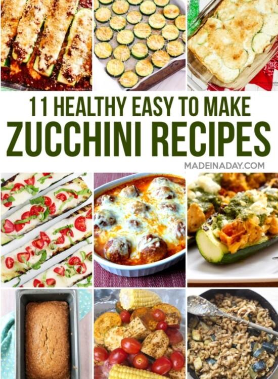 12 Healthy Zucchini Squash Recipes 32