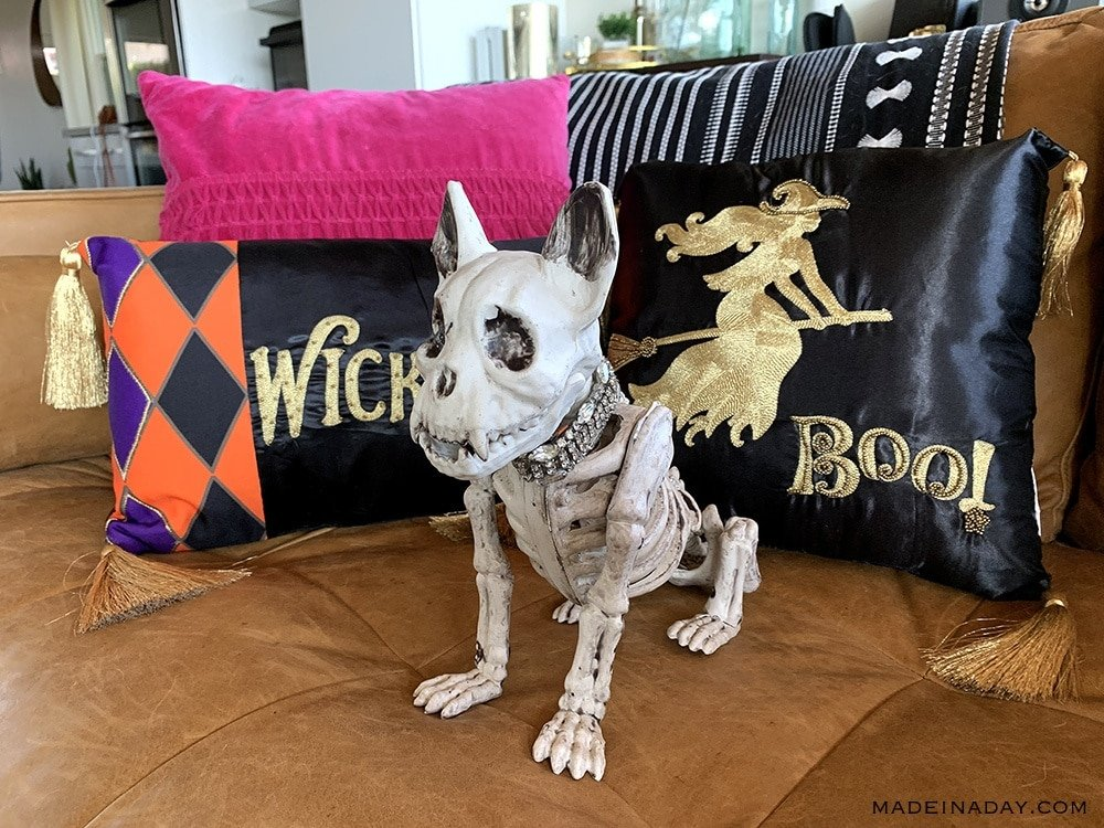 French Bulldog Halloween Skeleton