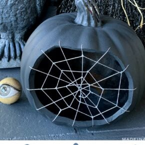 Spine Tingling Spiderweb Pumpkin 29