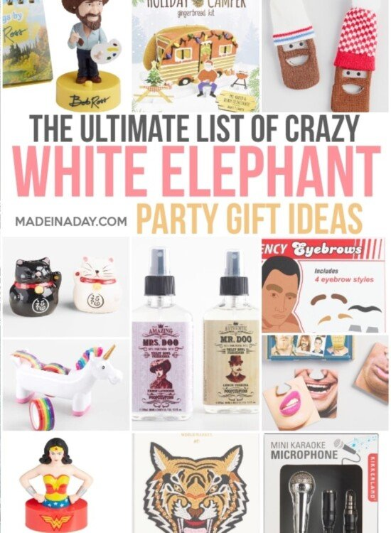 The Ultimate List of White Elephant Gift Ideas 38