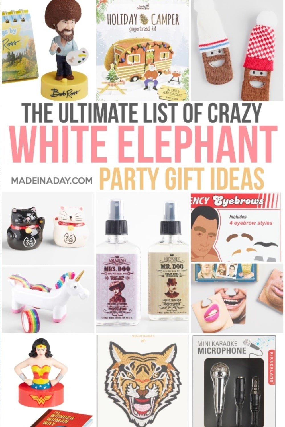 The Ultimate List of White Elephant Gift Ideas