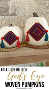 Colorful Fall Gods Eye Pumpkins 1