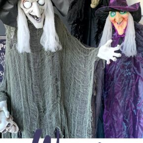 Sinful Bewitching Witch Halloween Decor 6