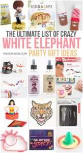 The Ultimate List of White Elephant Gift Ideas 1