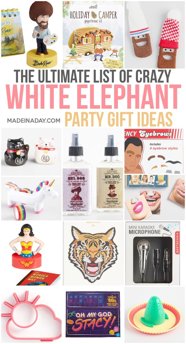 the best white elephant gift ideas, the ultimate white elephant gift exchange