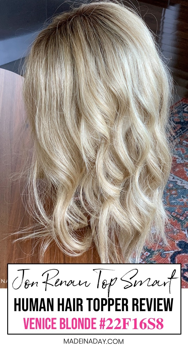 Jon Renau Human Hair Top Smart, topper review
