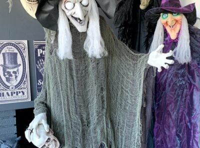 Sinful Bewitching Witch Halloween Decor