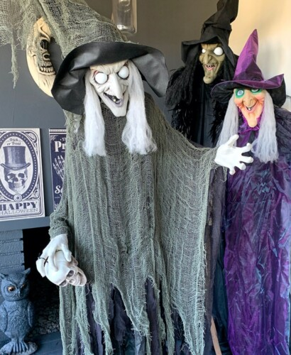 Sinful Bewitching Witch Halloween Decor 31