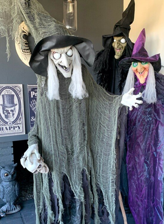 Sinful Bewitching Witch Halloween Decor 35