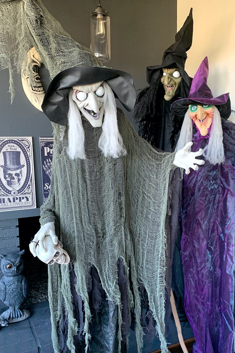 Sinful Bewitching Witch Halloween Decor 7