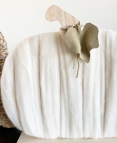 Warm & Cozy Merino Wool Pumpkin 29