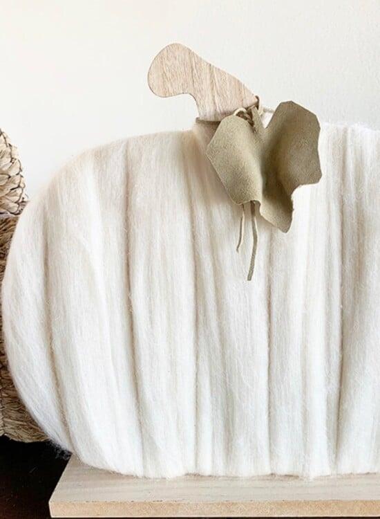 Warm & Cozy Merino Wool Pumpkin 4