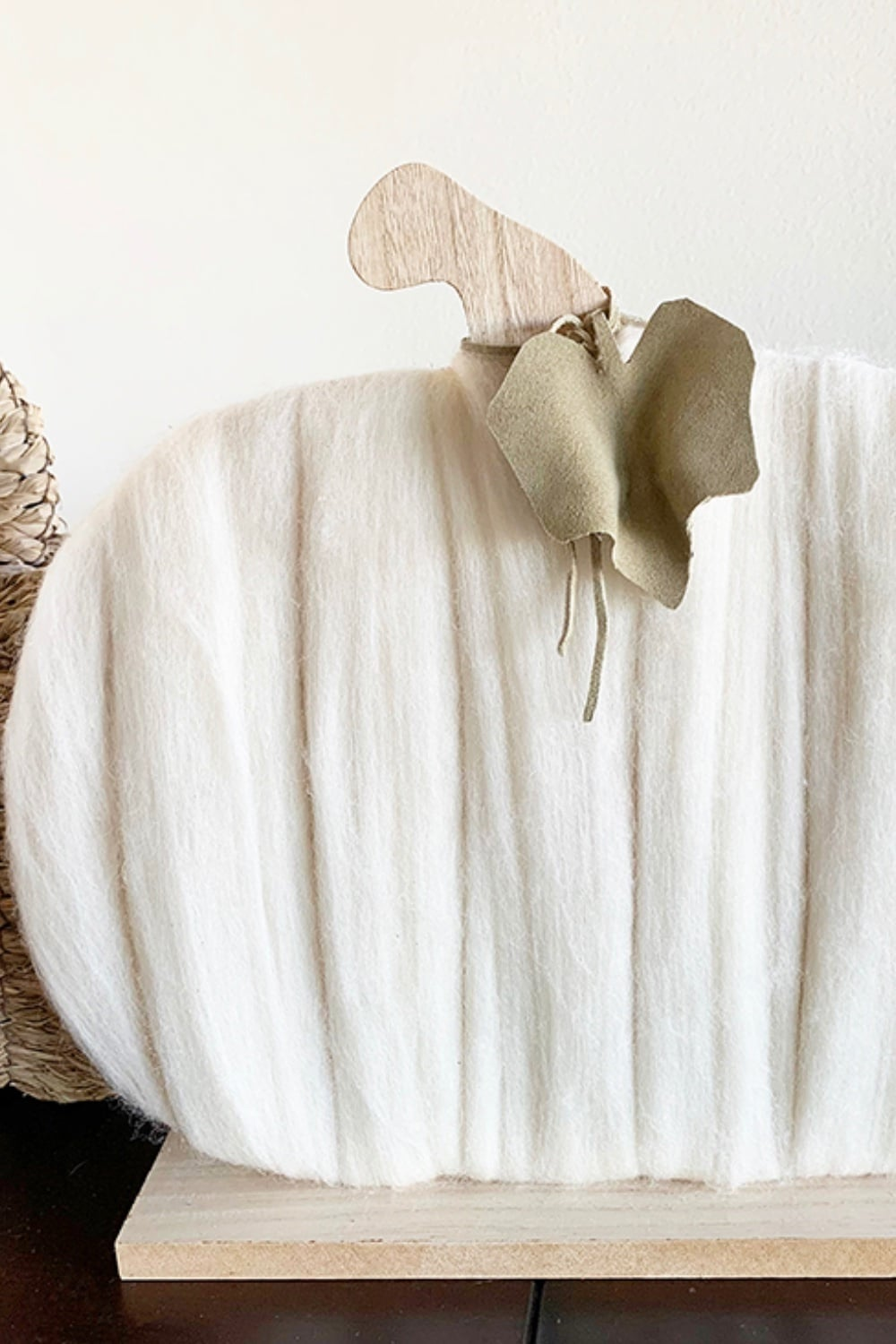 Cozy Merino Wool Pumpkin